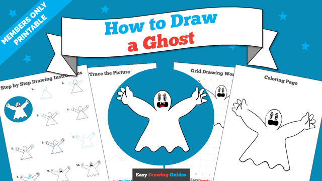download a printable PDF of Ghost drawing tutorial