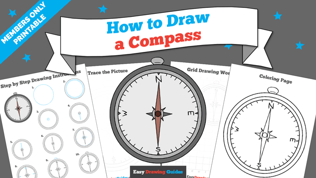 download a printable PDF of Compass drawing tutorial