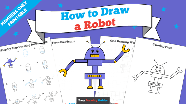 download a printable PDF of Robot drawing tutorial