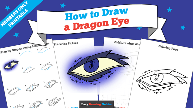 download a printable PDF of Dragon Eye drawing tutorial