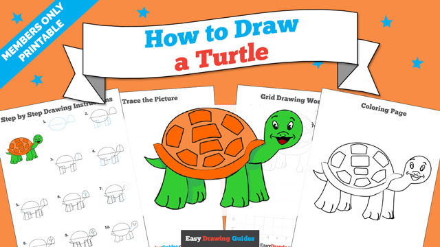 download a printable PDF of Turtle drawing tutorial