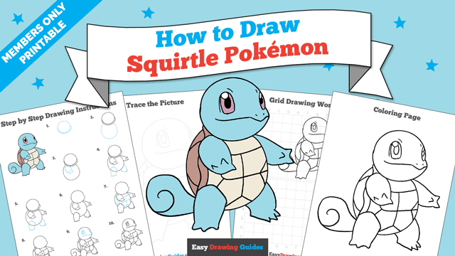download a printable PDF of Squirtle drawing tutorial