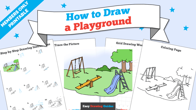 download a printable PDF of Playground drawing tutorial
