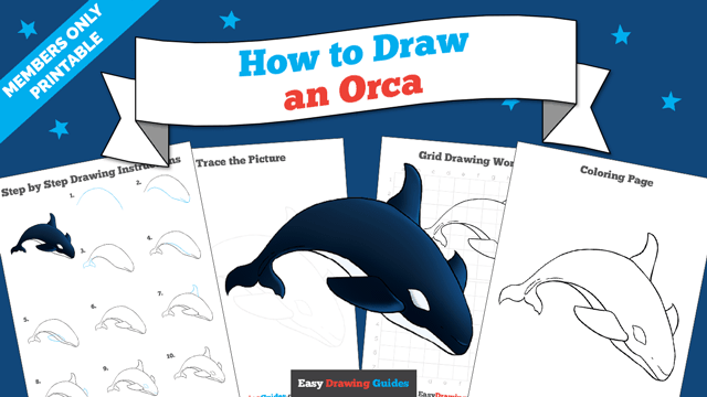 download a printable PDF of Orca drawing tutorial