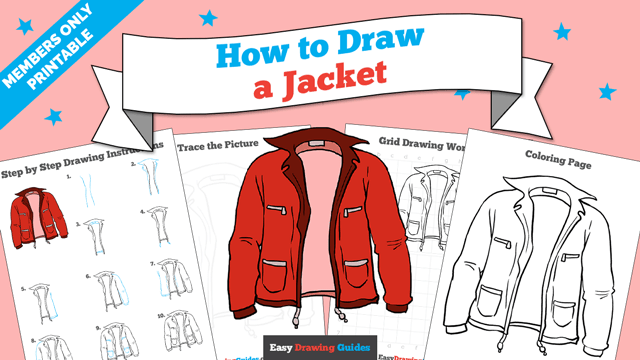 download a printable PDF of Jacket drawing tutorial