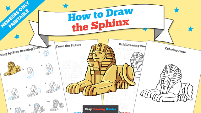 download a printable PDF of Sphinx drawing tutorial