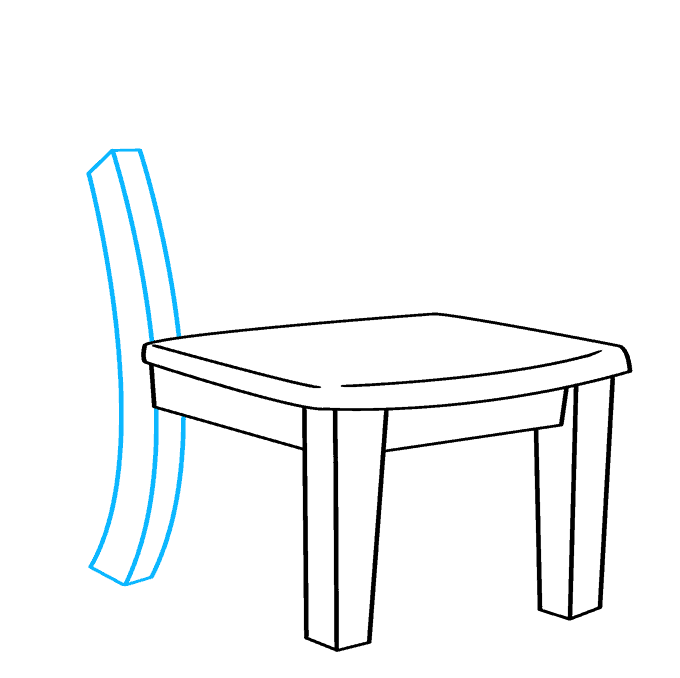 How to Draw Chair: Step 5
