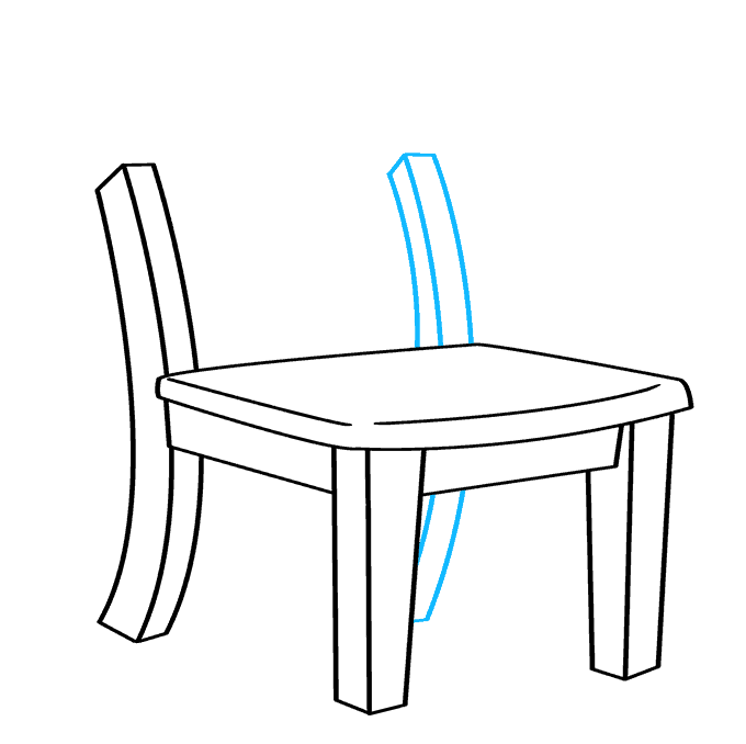 How to Draw Chair: Step 6
