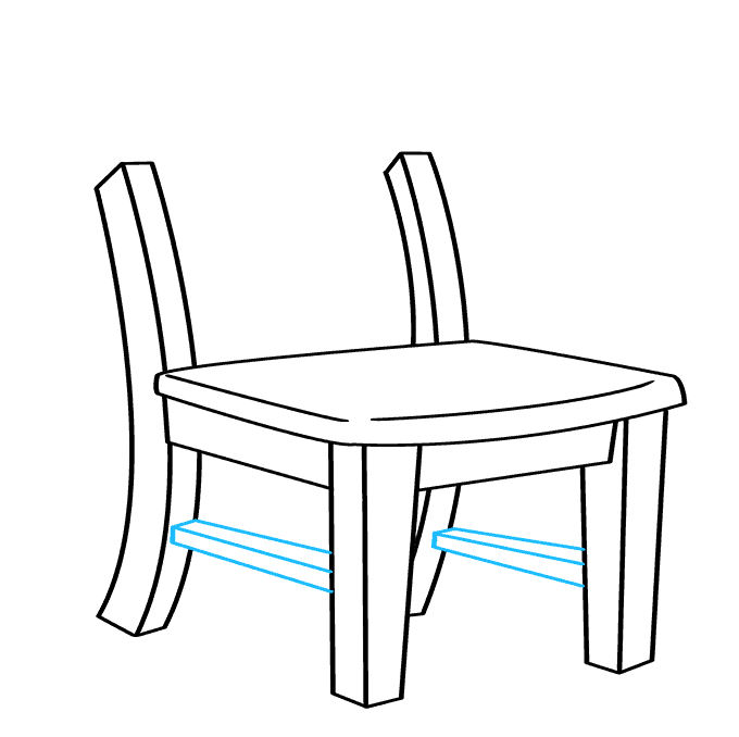 How to Draw Chair: Step 7