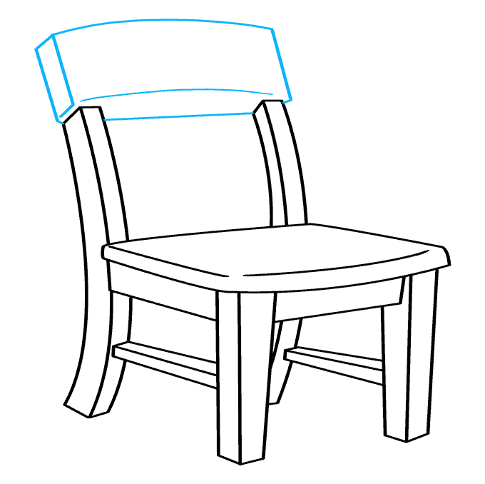 How to Draw Chair: Step 8