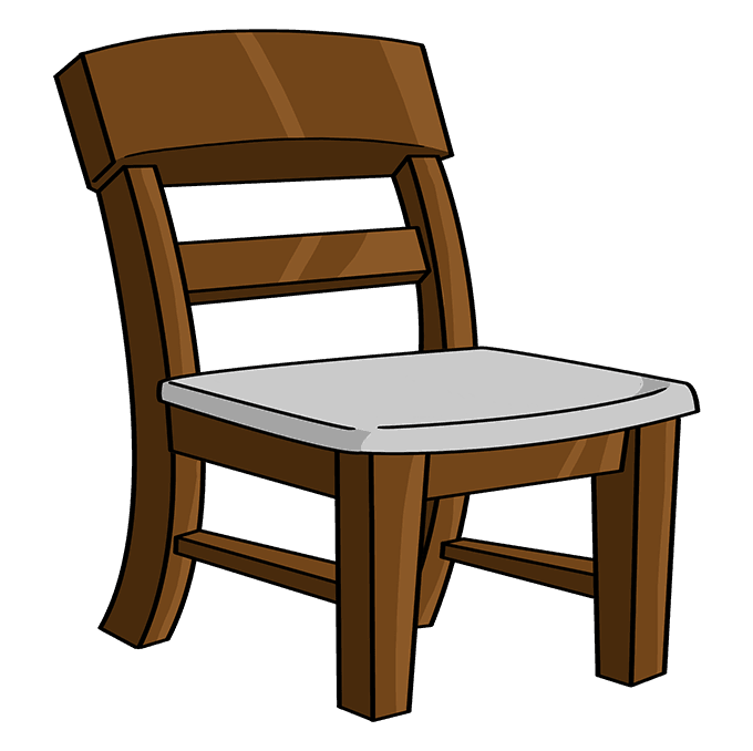 How to Draw Chair: Step 10