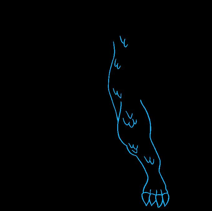 How to Draw Godzilla: Step 6