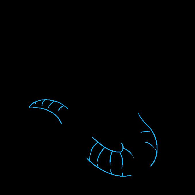 How to Draw Godzilla: Step 8