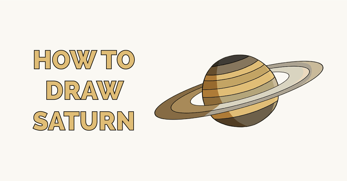 How to Draw Saturn Featured Image