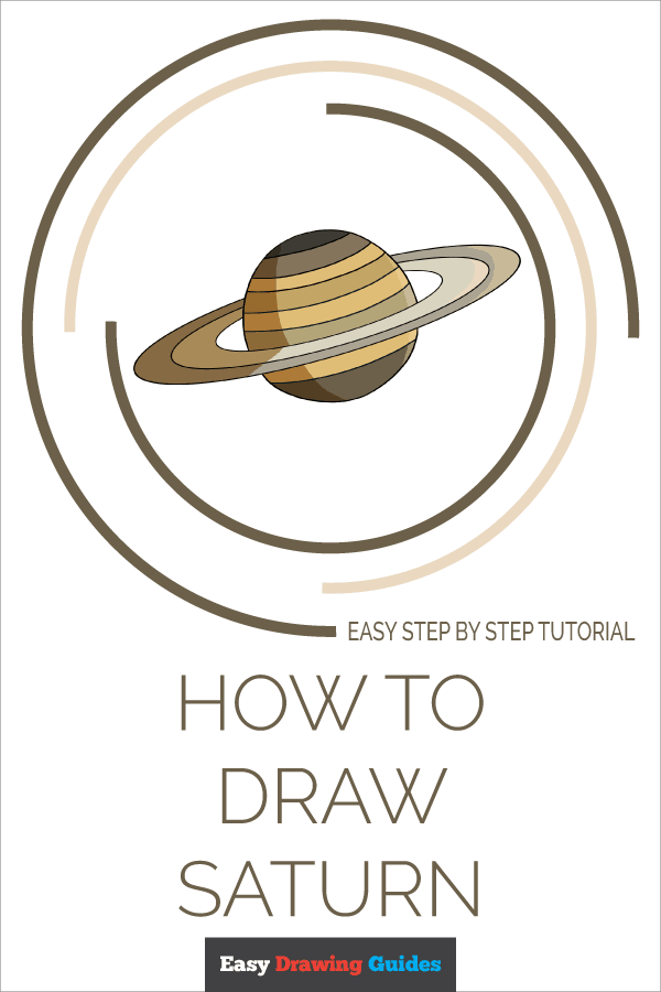 How to Draw Saturn | Share to Pinterest