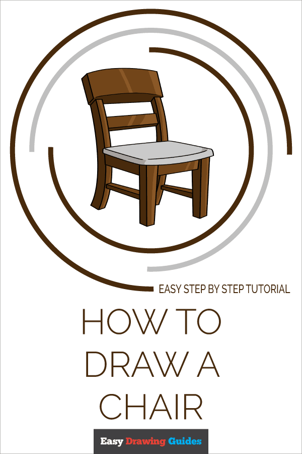 How to Draw Chair | Share to Pinterest