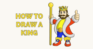 How to Draw a King Featured Image