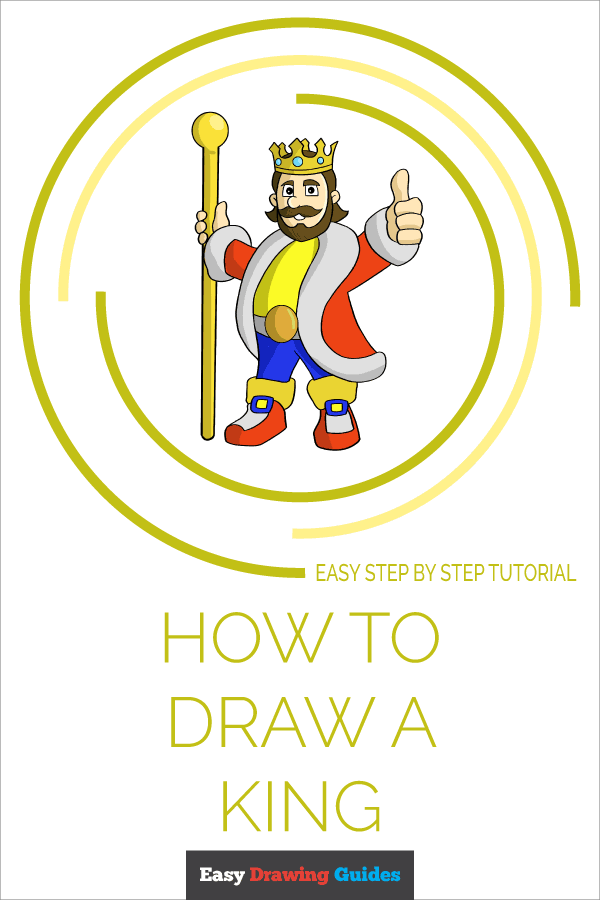 How to Draw King | Share to Pinterest