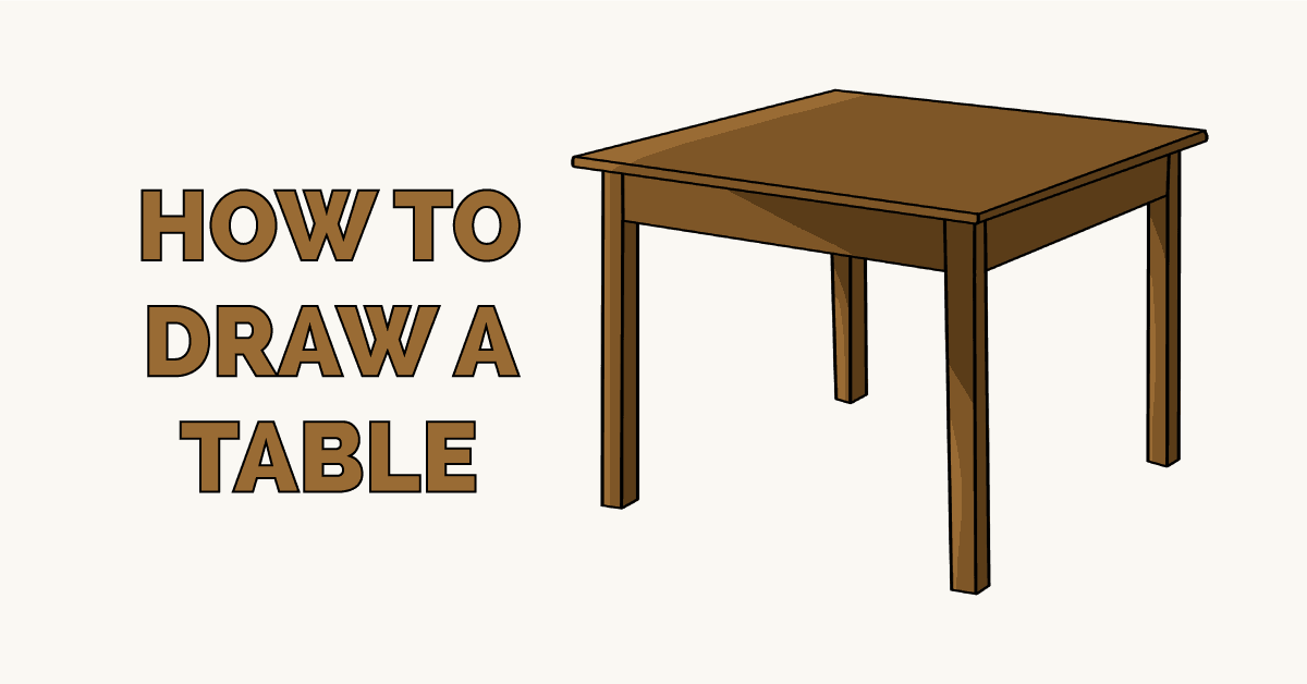 How to Draw a Table Featured Image