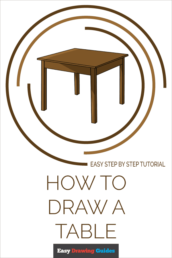 How to Draw Table | Share to Pinterest