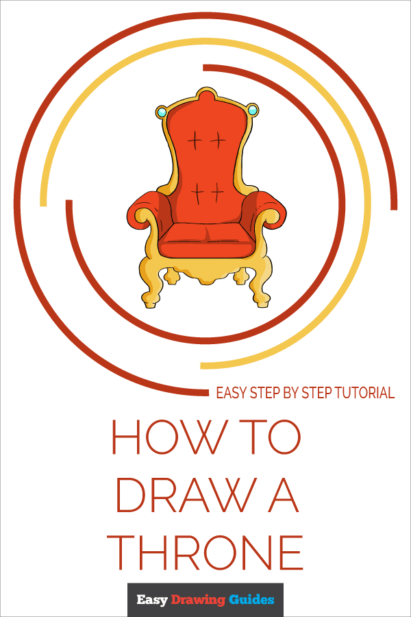 How to Draw Throne | Share to Pinterest