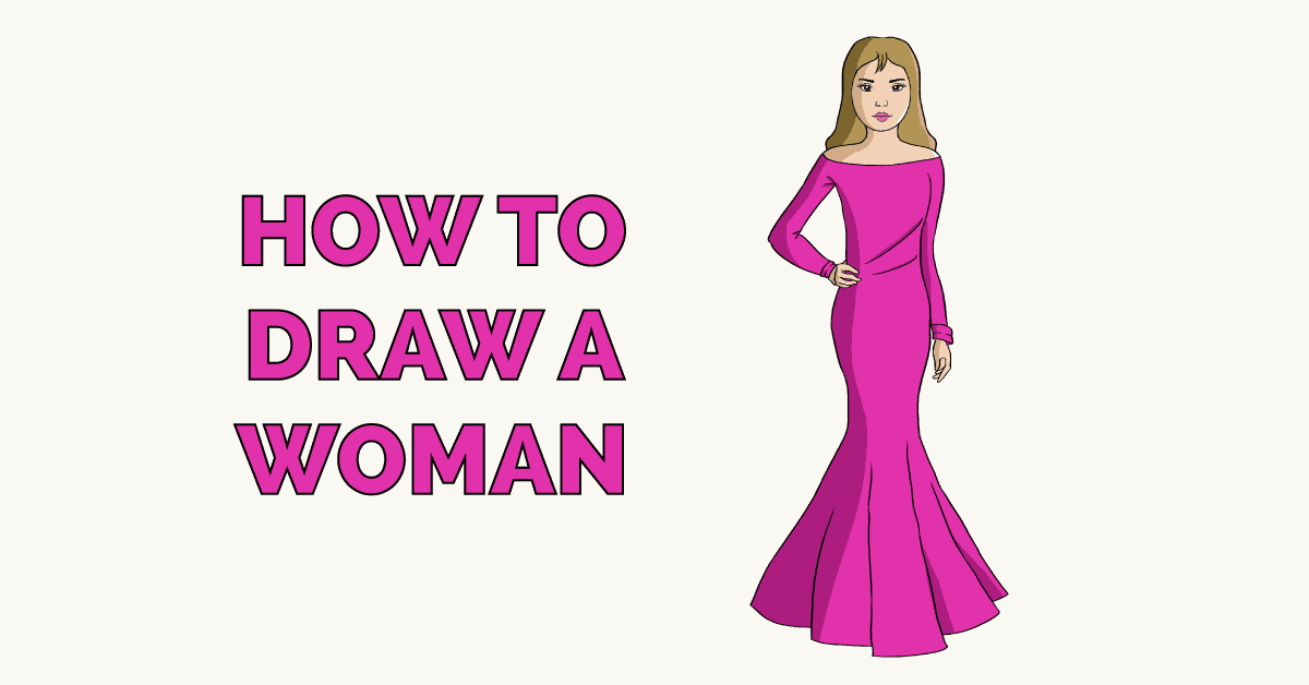 How to Draw a Woman Featured Image