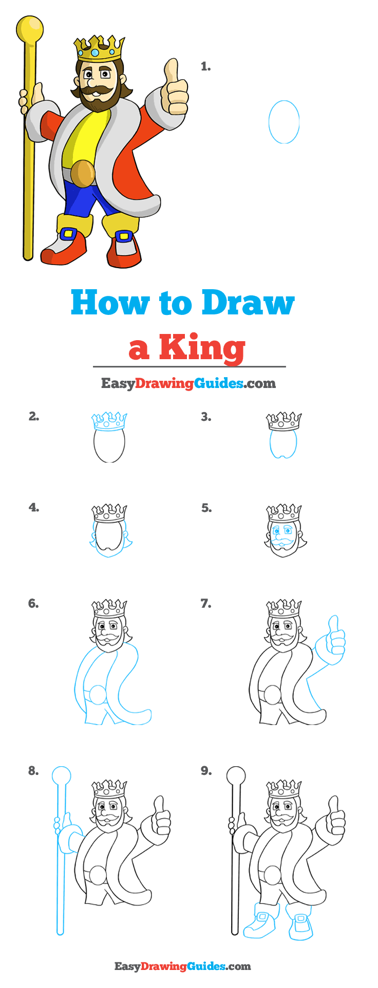 How to Draw King