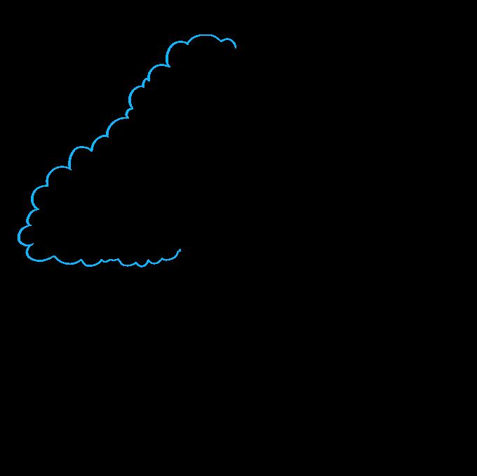 How to Draw Oak Tree: Step 5
