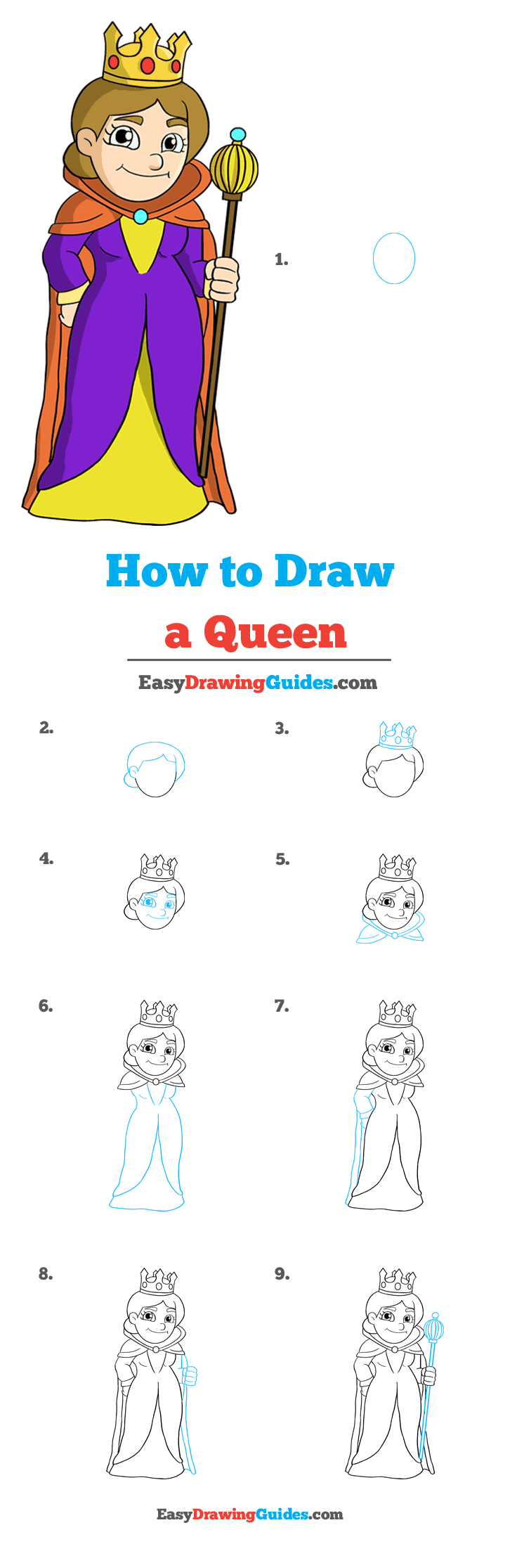 How to Draw Queen