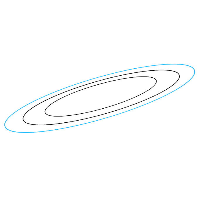 How to Draw Saturn: Step 3
