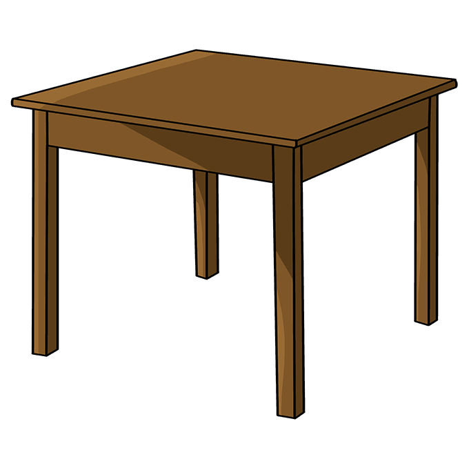 How to Draw Table: Step 10