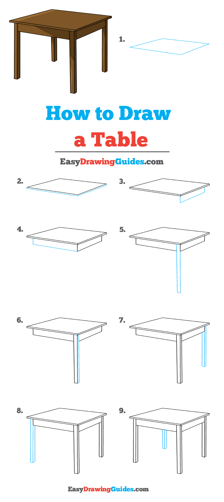 How to Draw Table