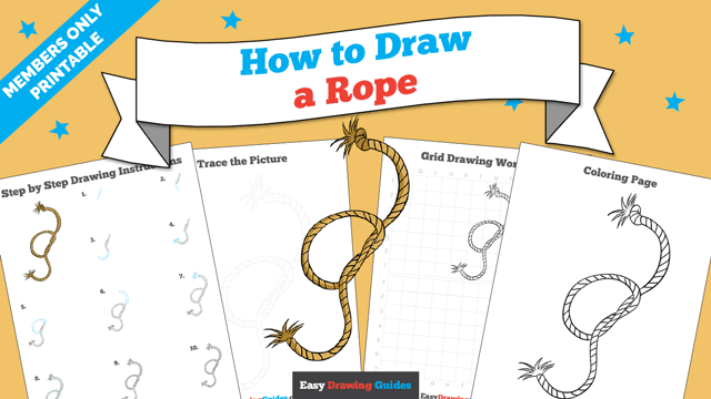 download a printable PDF of Rope drawing tutorial