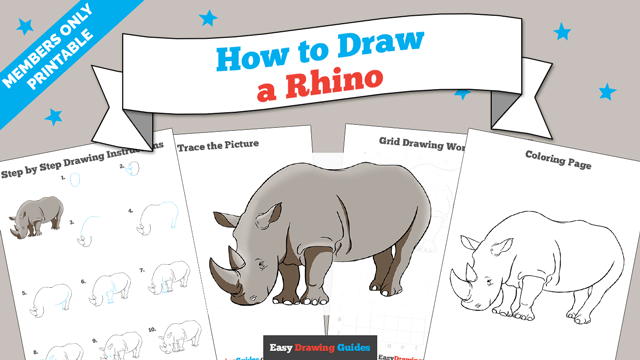 download a printable PDF of Rhino drawing tutorial
