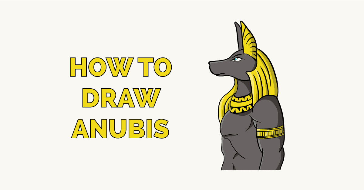 How to Draw Anubis Featured Image