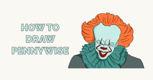 How to Draw Pennywise Featured Image