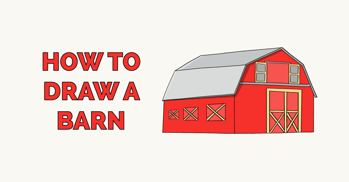 How to Draw a Barn Featured Image