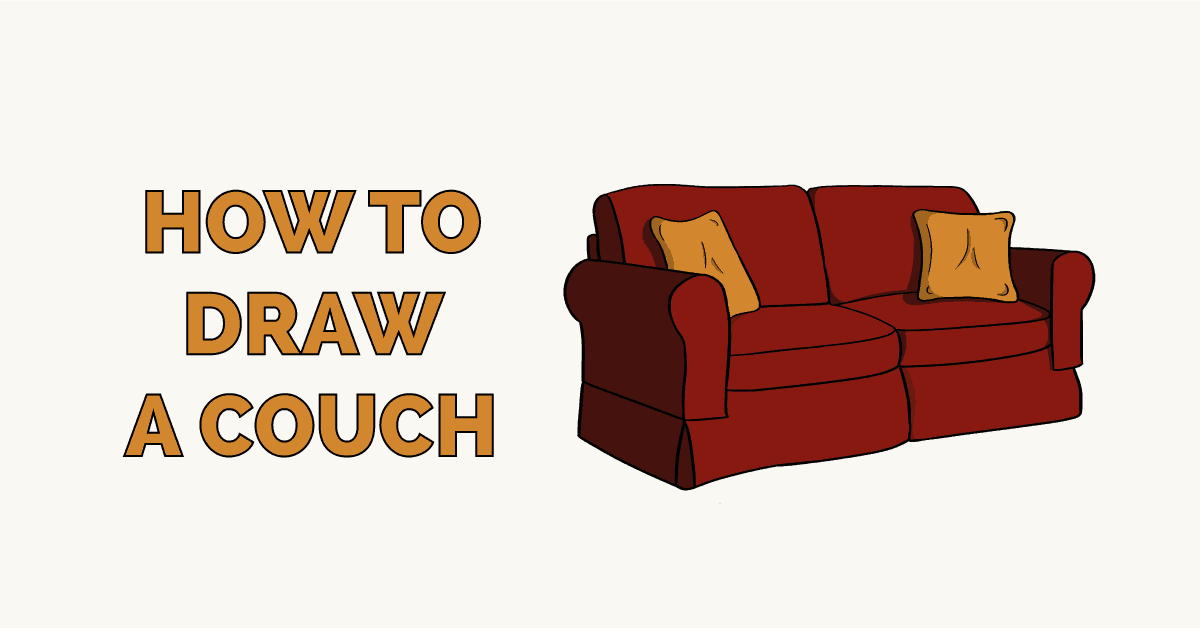 How to Draw a Couch Featured Image