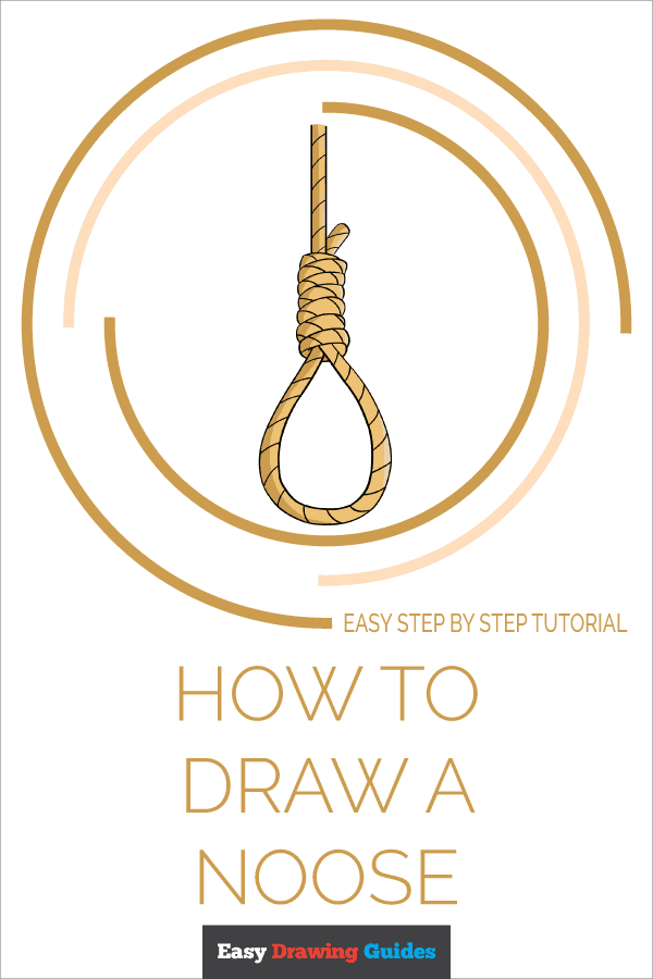 How to Draw Noose | Share to Pinterest