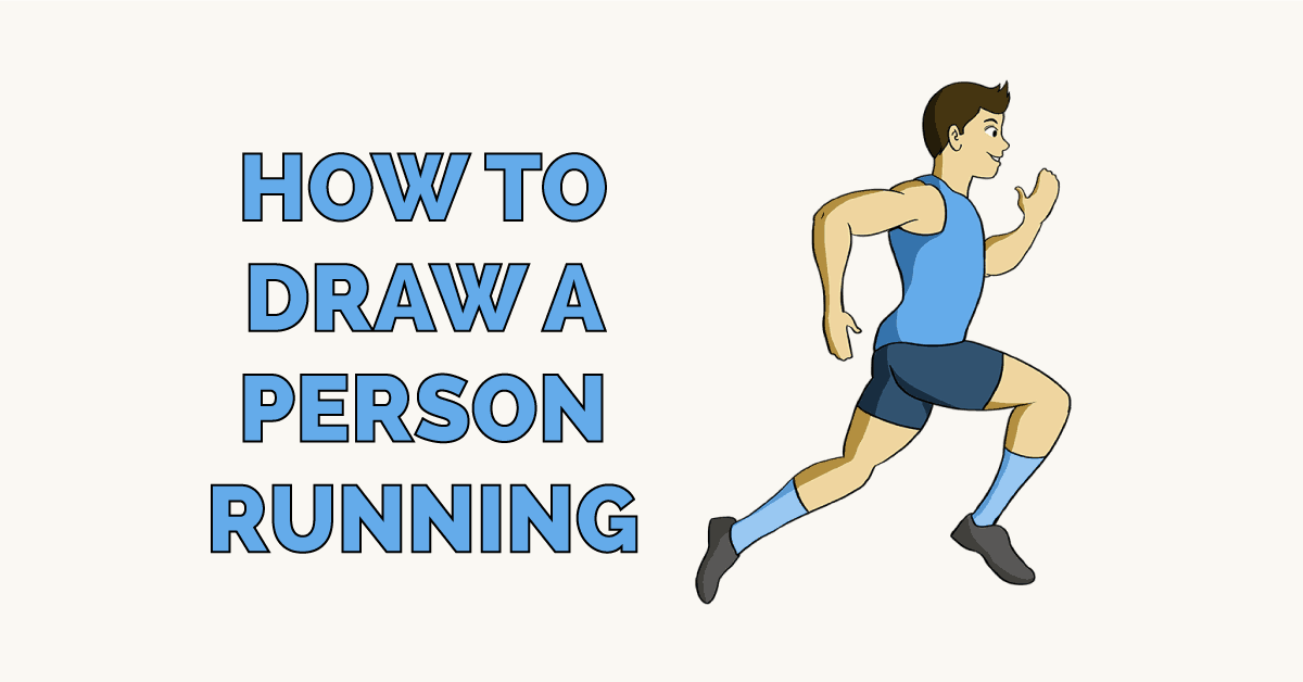 How to Draw a Person Running Featured Image