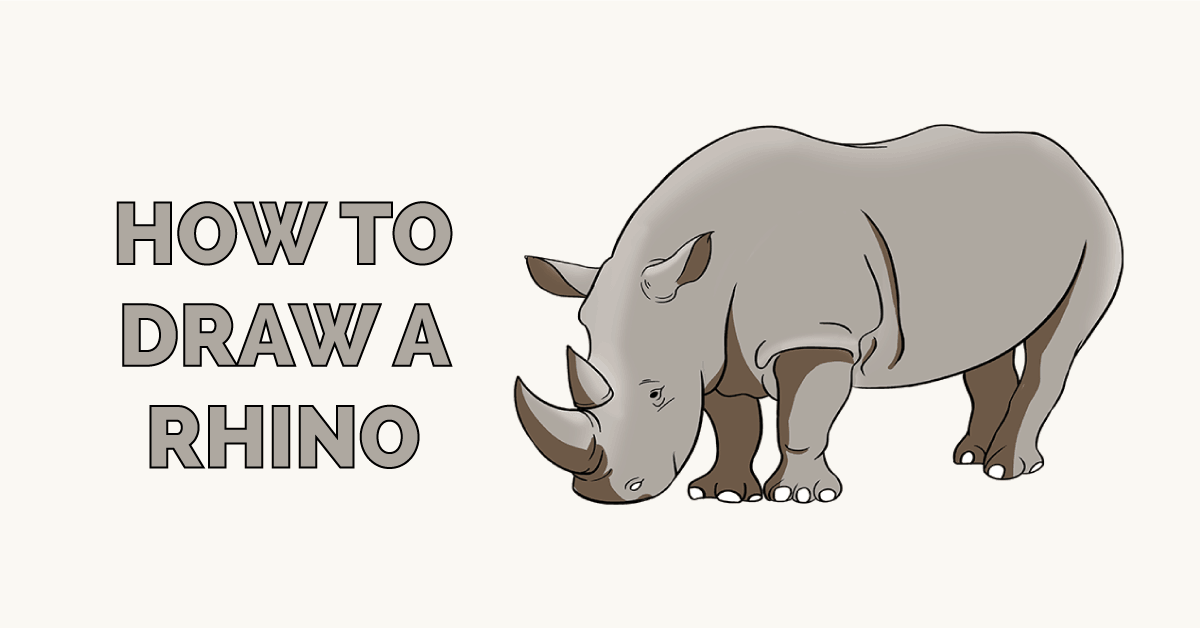 How to Draw a Rhino Featured Image