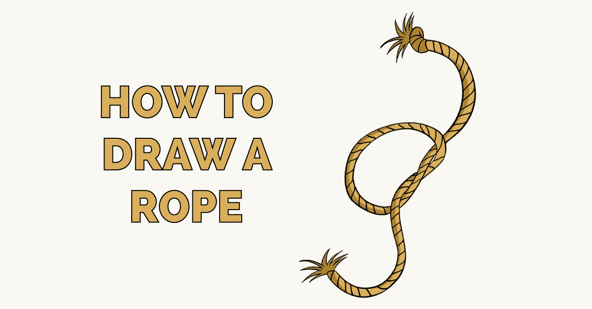 How to Draw a Rope Featured Image