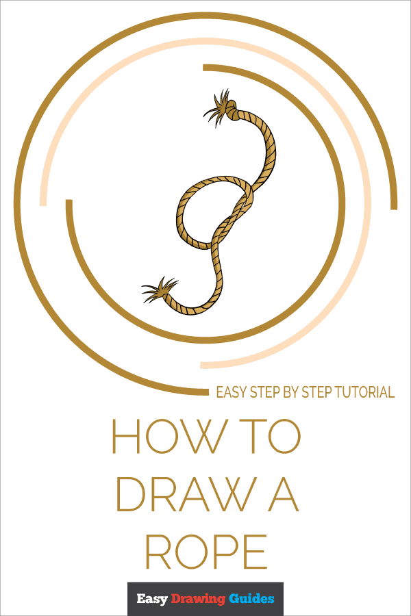 How to Draw Rope | Share to Pinterest