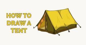 How to Draw a Tent Featured Image