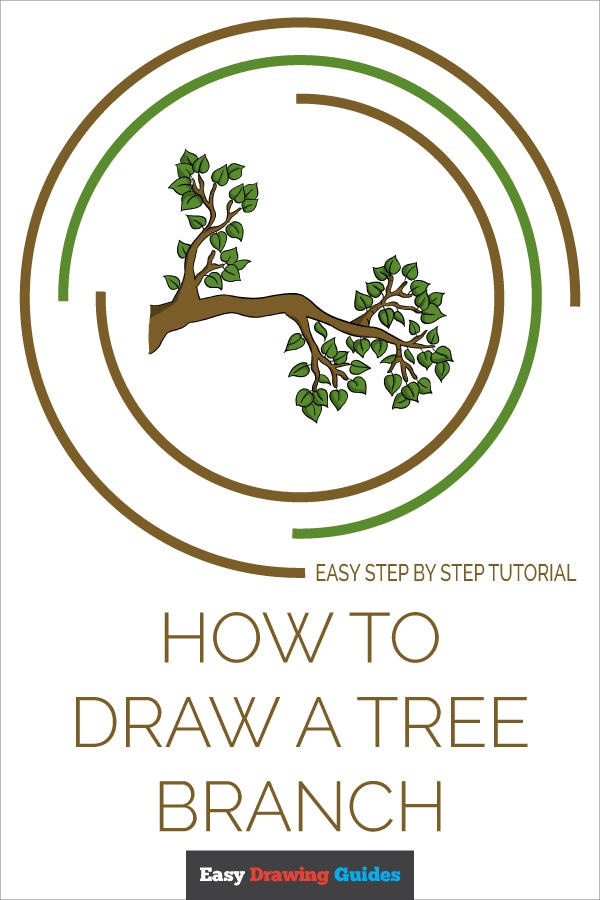 How to Draw Tree Branch | Share to Pinterest
