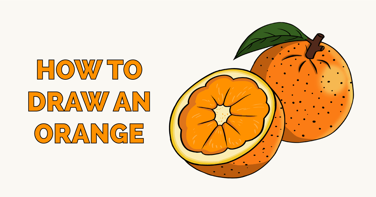How to Draw an Orange Featured Image