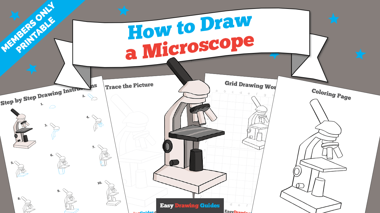 download a printable PDF of Microscope drawing tutorial
