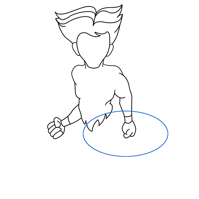 How to Draw a Centaur Step 04