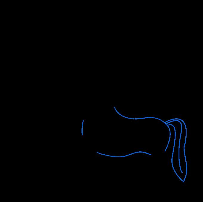 How to Draw a Centaur Step 05
