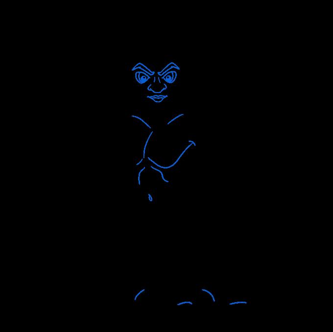 How to Draw a Centaur Step 09